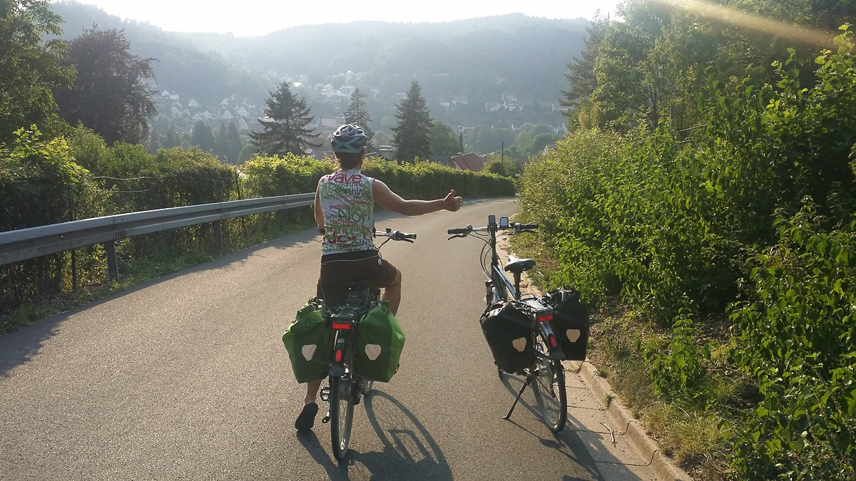 E-Bike Tour zum Windbeutel essen in Hohenstadt