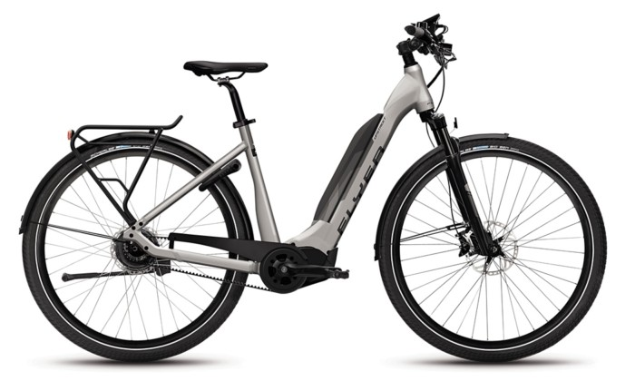 Flyer_Upstreet5_2018_neu_FIT_E-Bike_Elektrofahrrad_Alltag_Komfort_modern_grau_Tiefeinsteiger