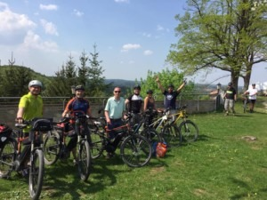ADFC Nuernberger Land eBike Tour - Burg Hartenstein Restaurant Touche.