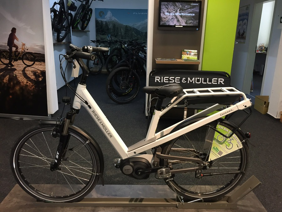 Riese Müller Test-eBike Culture
