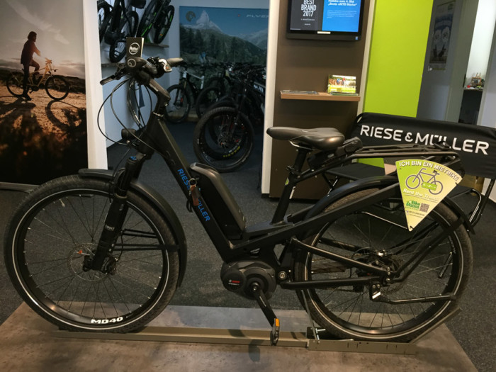 Riese Müller Test-eBike Homage
