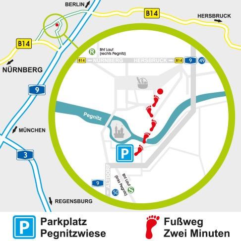 Anfahrtskizze eBike-Maass