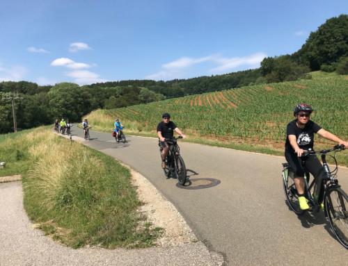 Rückblick: eBike Tour Süd – mit und von Achim Maass.
