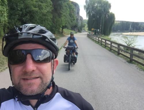 Rückblick: 2 Tage mit Maximilian Semsch auf der Donau-Radl-Tour