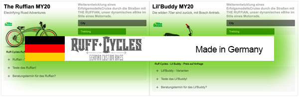 ruffcycles ebikes