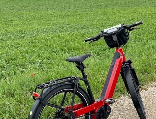 Es hat sich gelohnt, das Fahrrad bei einem professionellen Händler zu kaufen